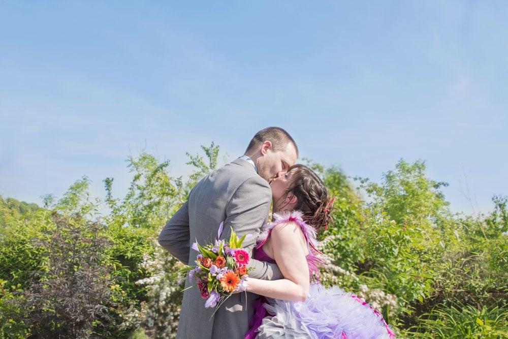 mariage coloré à Neufchatel en bray