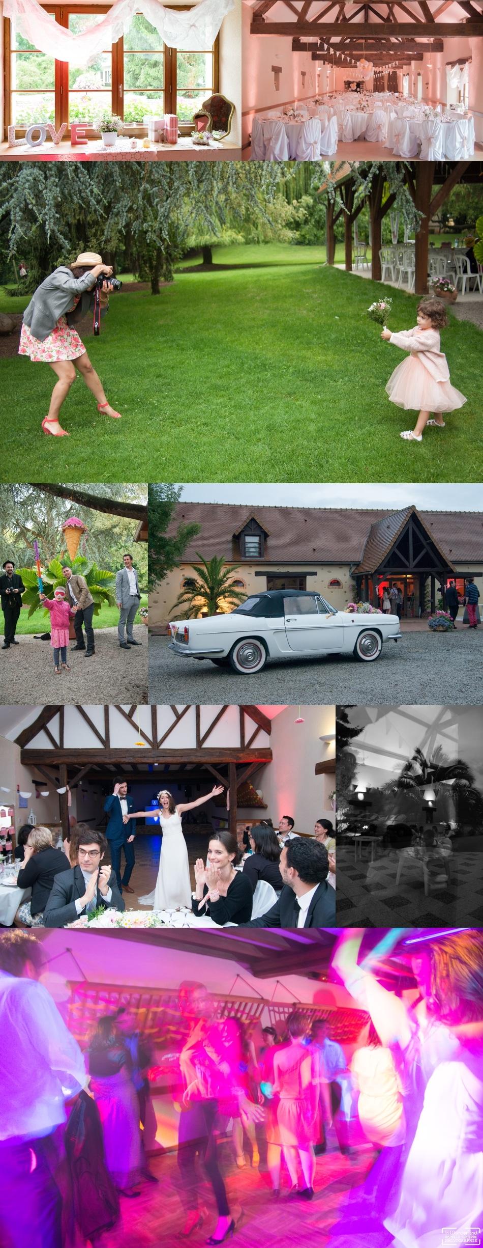 photographe de mariage au Gite de la Metairie le Mans
