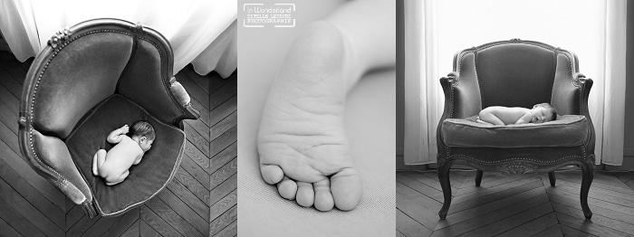 Séance photo bébé à domicile à Paris 75