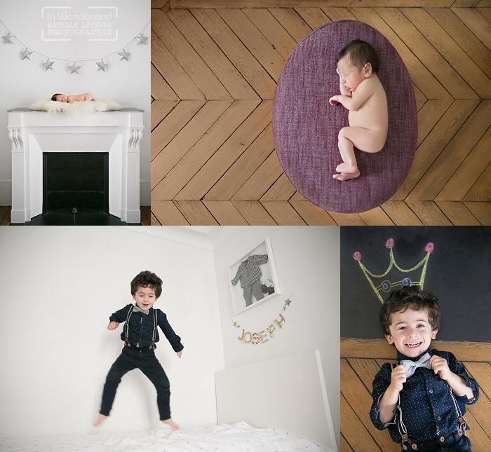 photo nouveau-né et enfant  à domicile