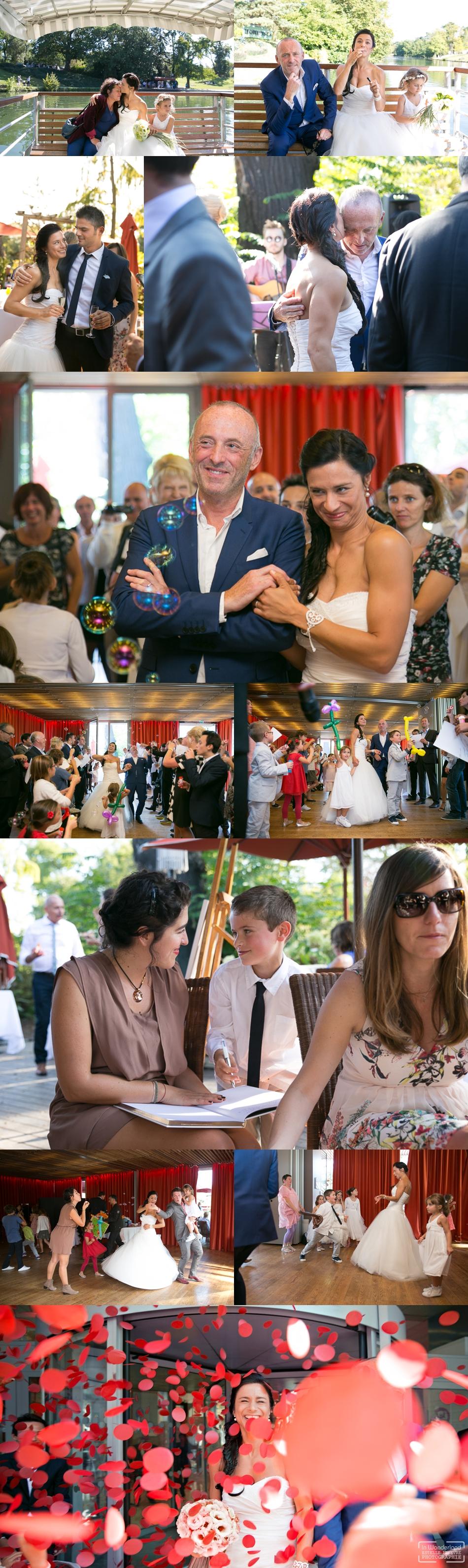 Photographe de mariage au Chalet des Iles a Paris 75