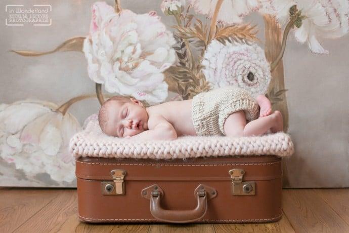 Photo bébé à domicile Eaubonne 95