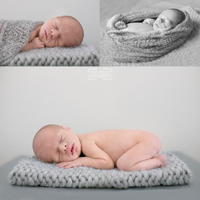 photo de bébé à domicile en douceur