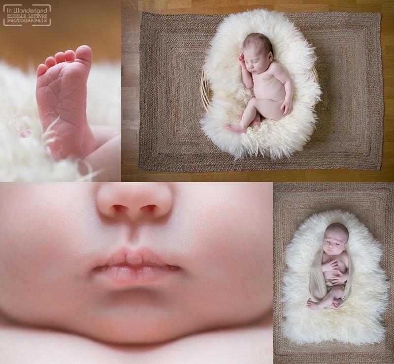 Photo de bébé à domicile à la garenne colombe dans les Hauts de Seine