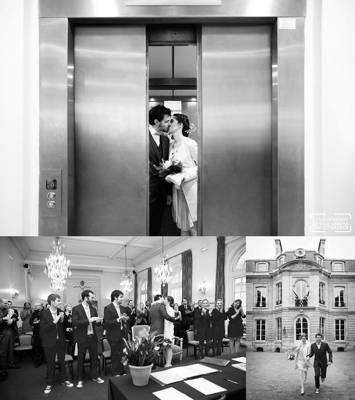 Mariage original à la mairie du 9e à Paris
