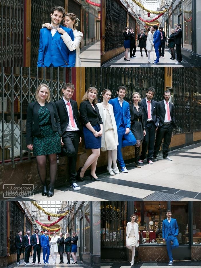 photos de mariage en couple avec les témoins