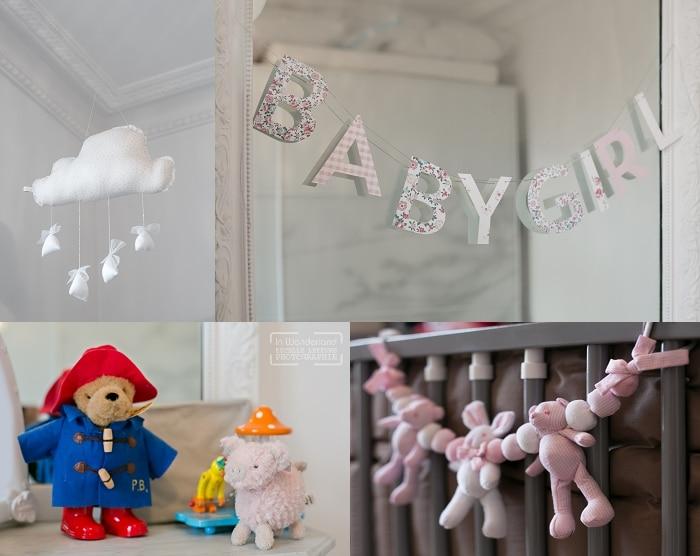 photos de naissance pour chambre de bébé