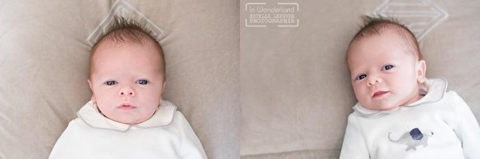 Bébé nouveau-né en pyjama