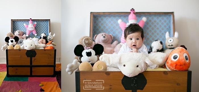 séance photo nouveau-né à domicile Courbevoie