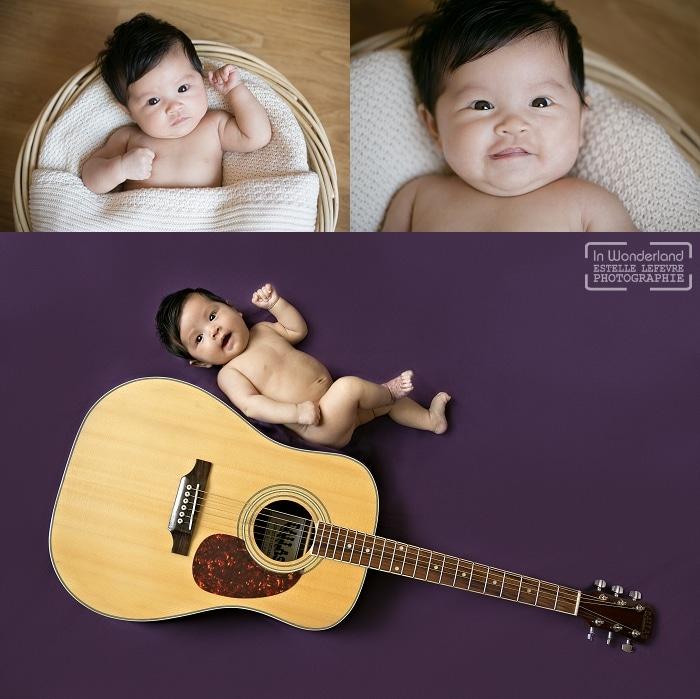 séance photo bébé à domicile et original courbevoie