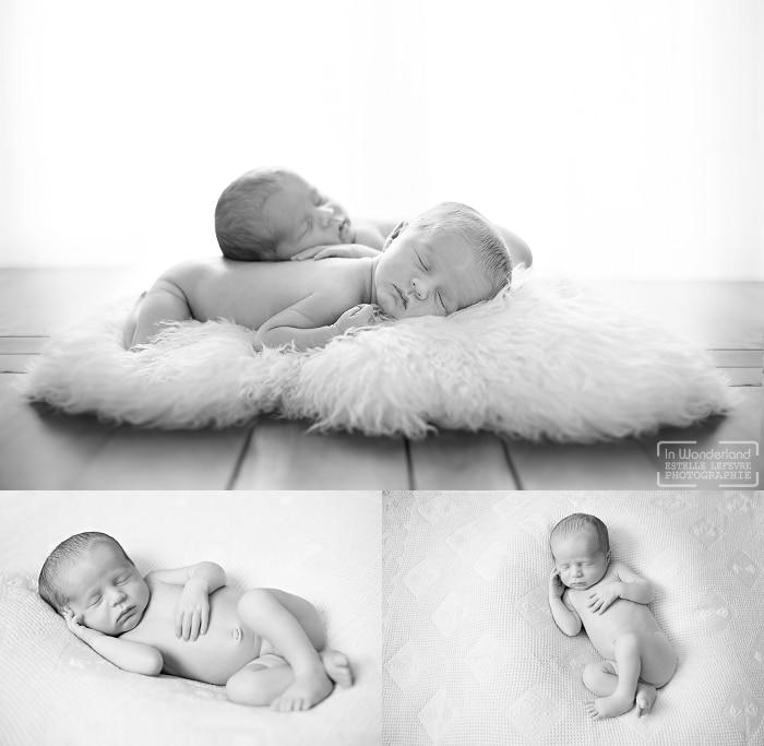 séance photo jumeaux naissance