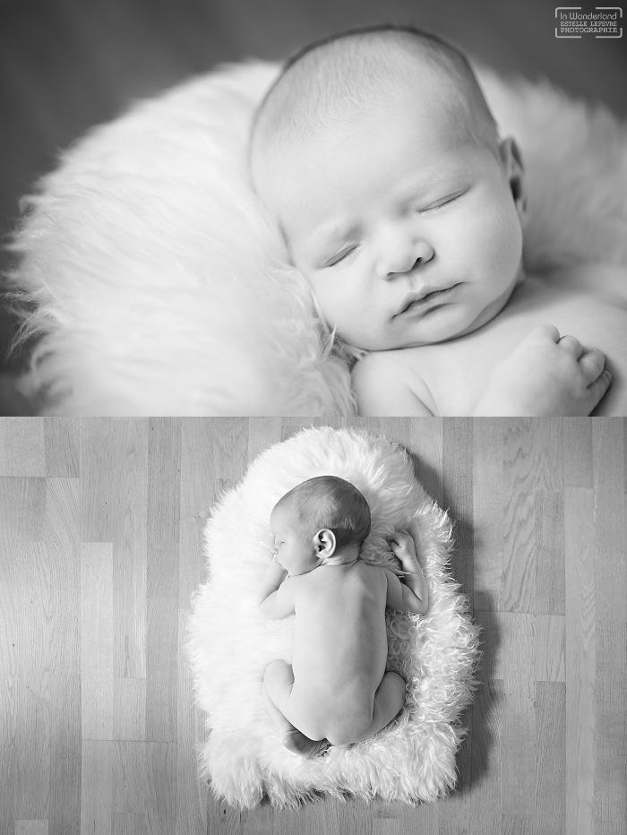 Photos de naissance photographe domicile Asnières 92