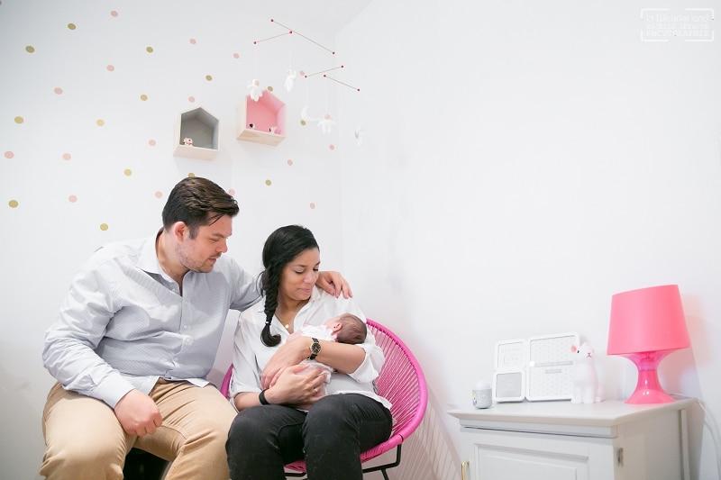 Photos de naissance photographe bébé a domicile a Puteaux 92