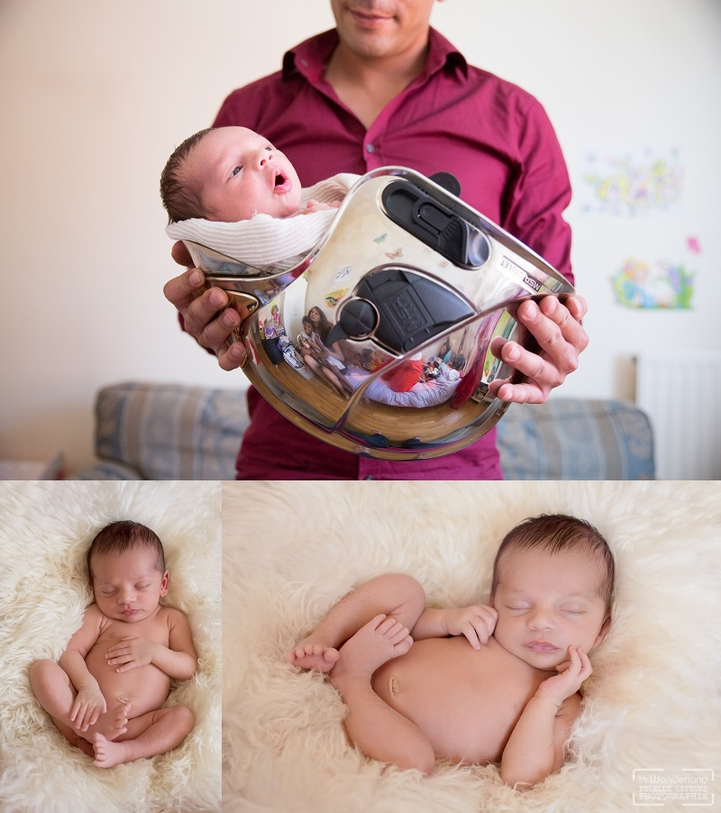Photos de naissance à domicile Photographe Bobigny