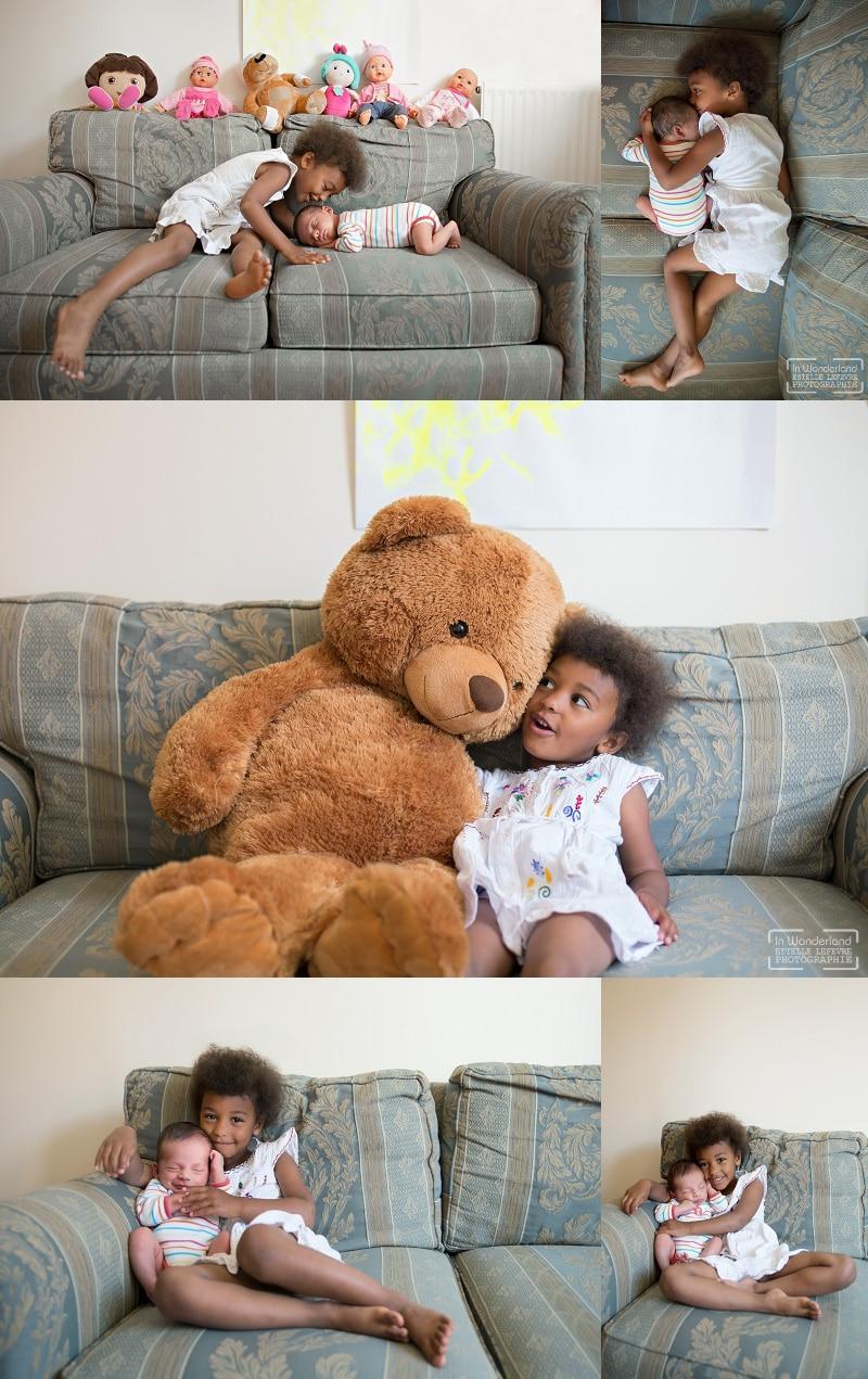 Photos portraits d'enfants à domicile Bobigny 93