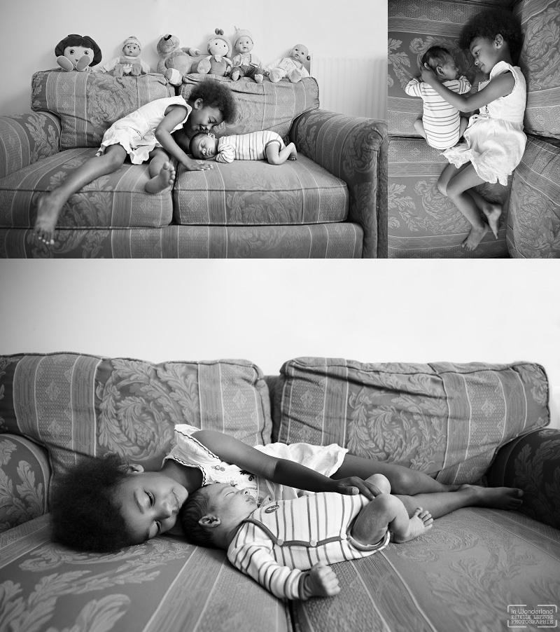 Photos portraits d'enfants à domicile à Bobigny 93