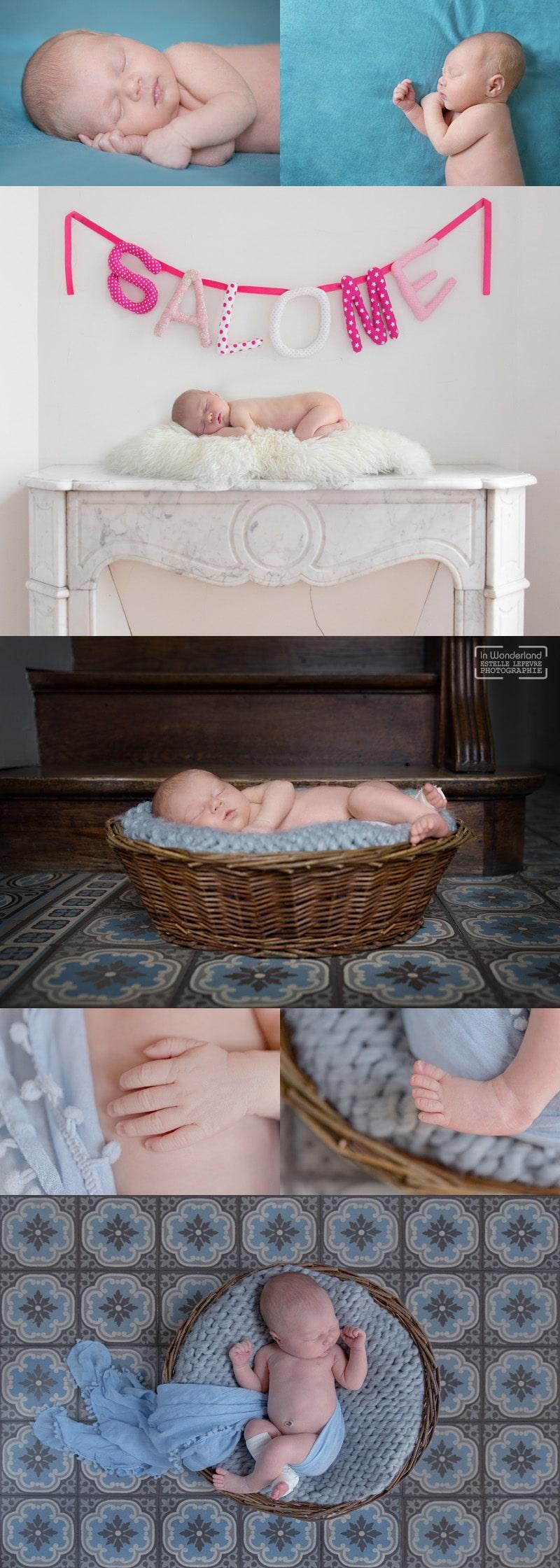 Photos de naissance bébé domicile Courbevoie 92
