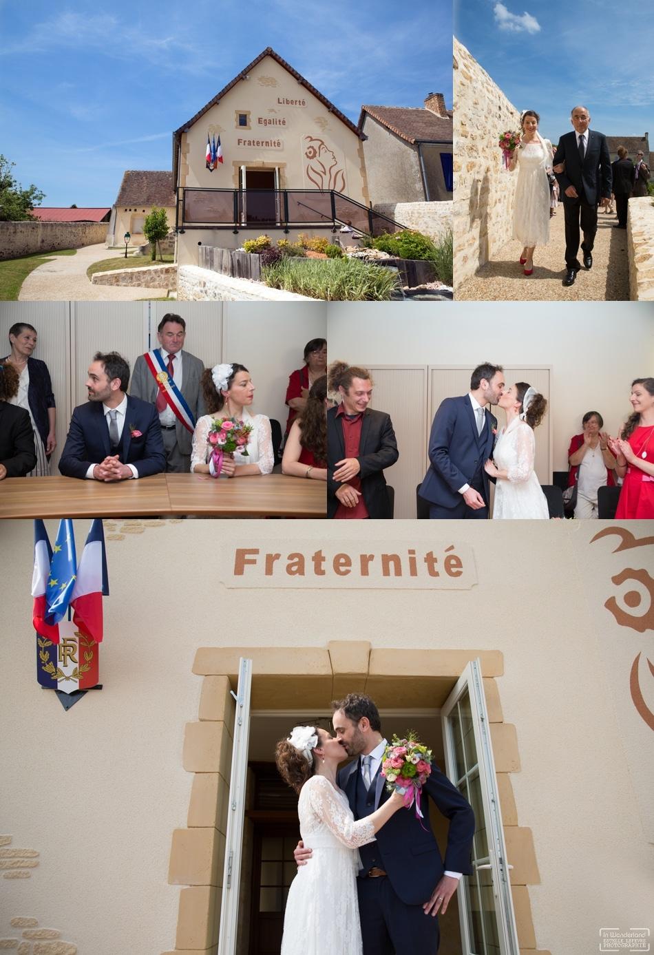 photographe de mariage original dans la Sarthe