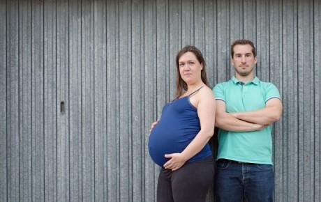 Photos de grossesse maternité à domicile 92