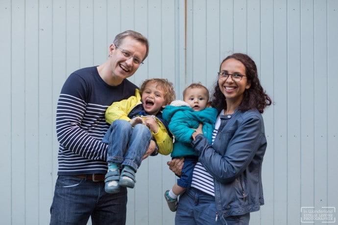 Photos de famille à St Cloud