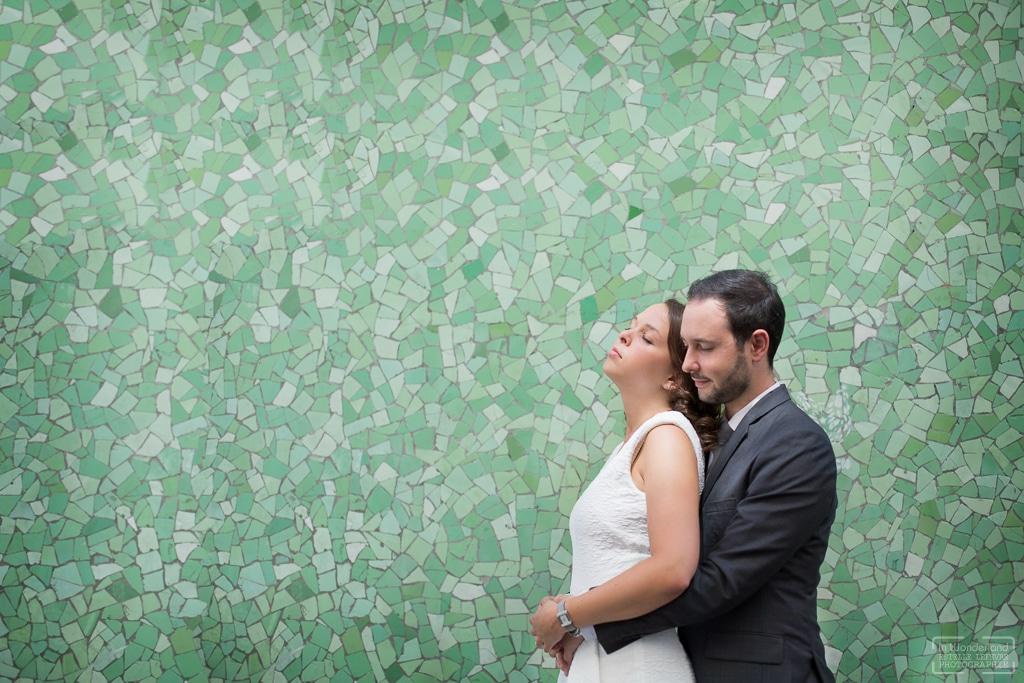 Mariage civile reportage photo a Paris