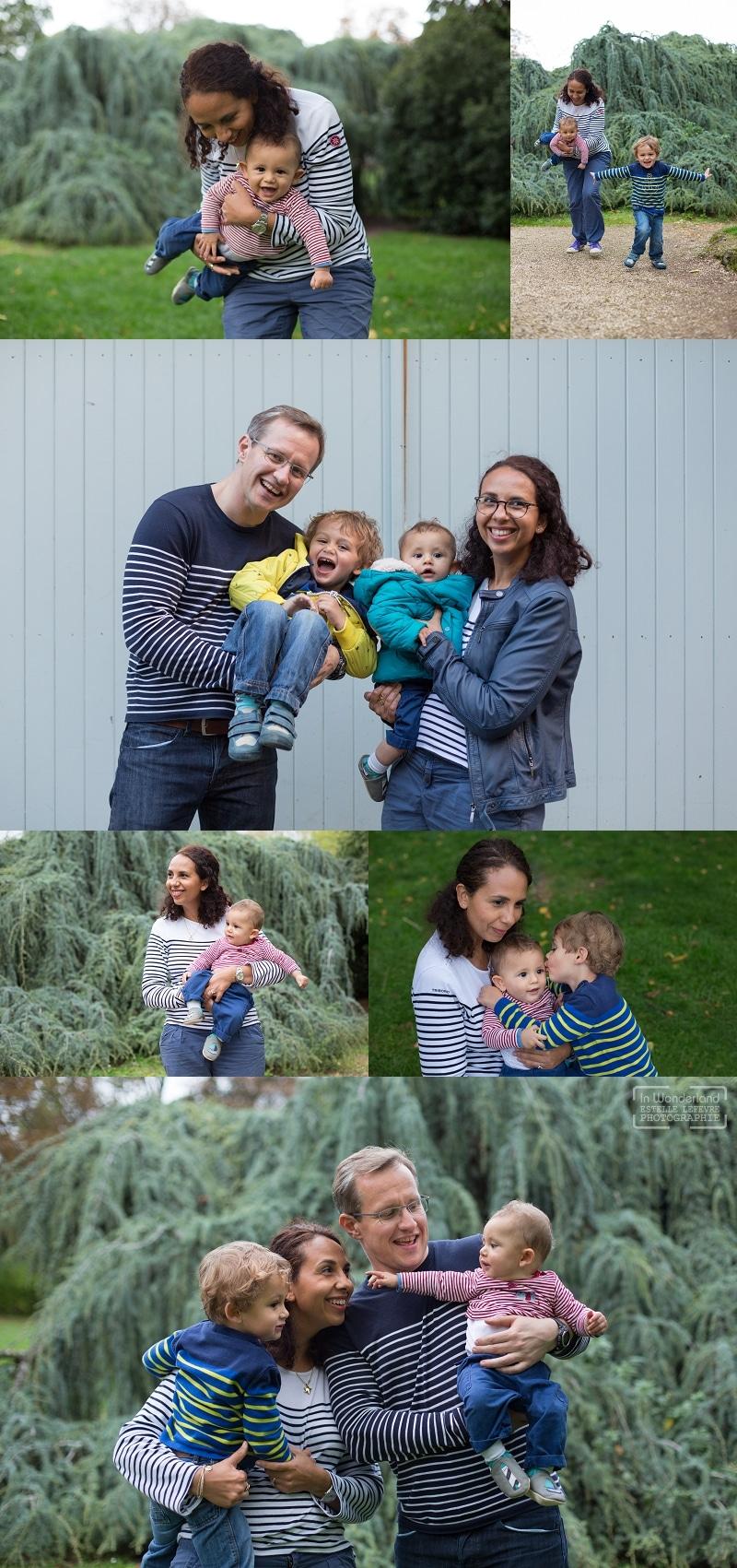 Photos de famille au parc à St Cloud 92