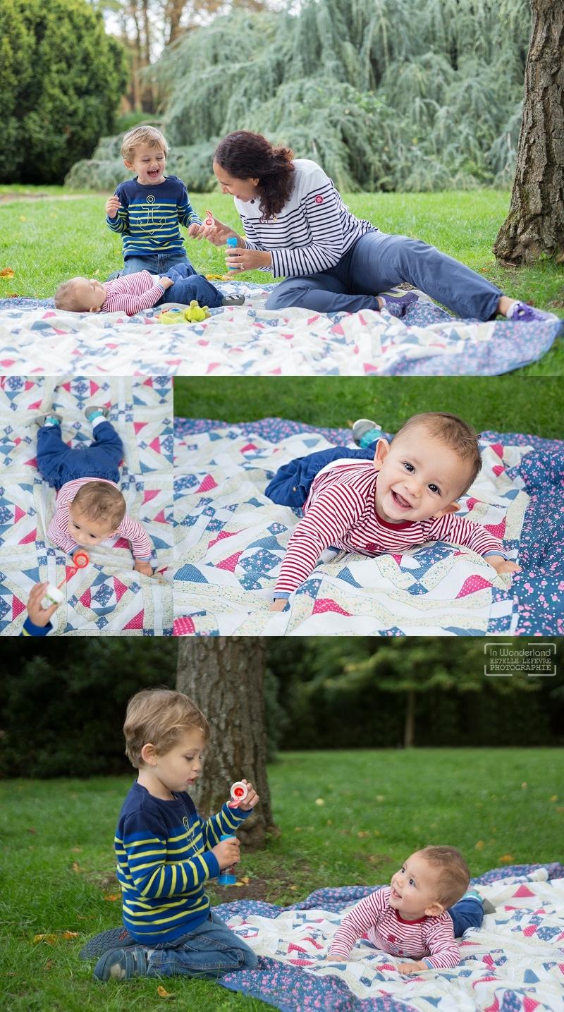 Photos de famille au parc de St Cloud 92