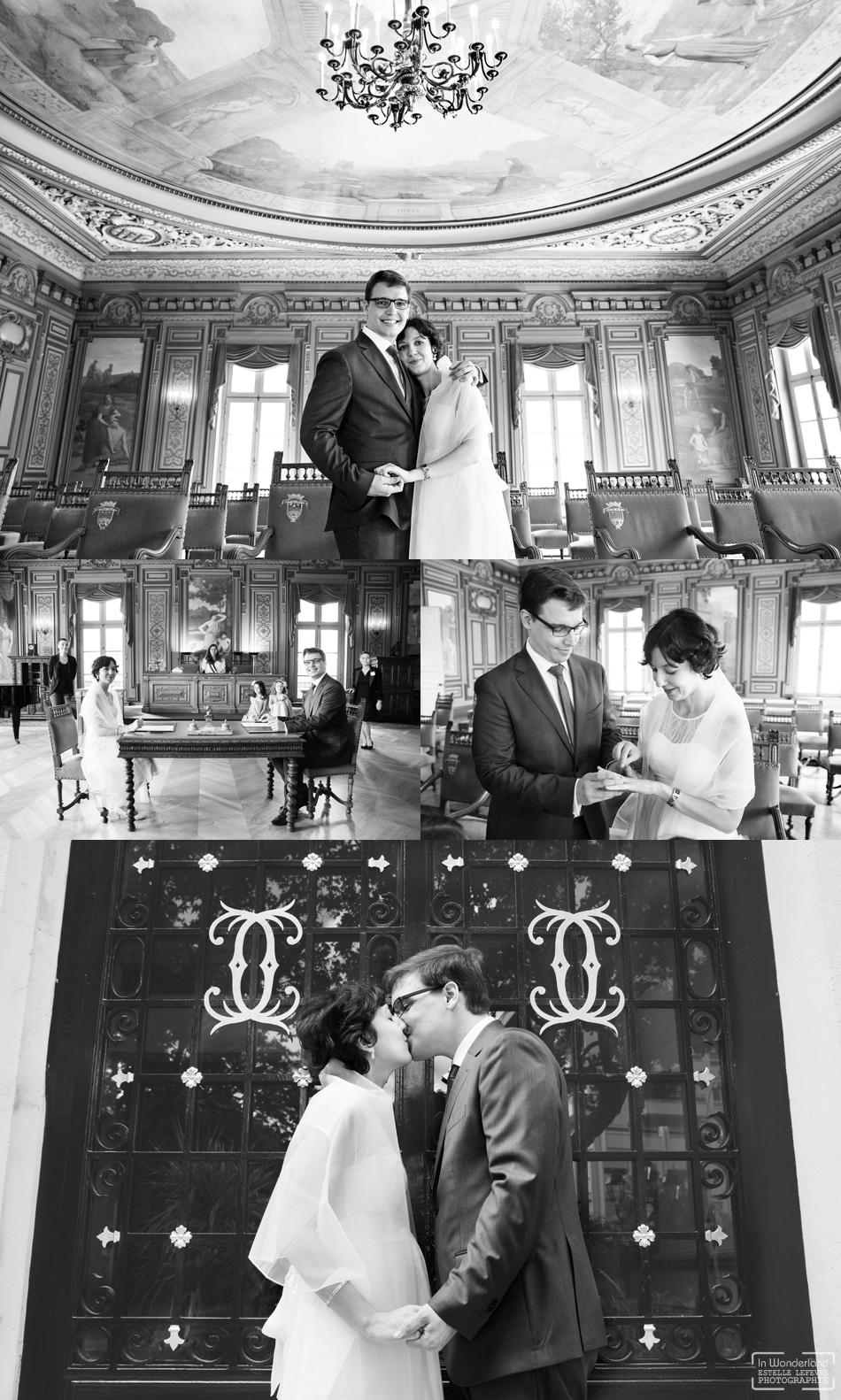 photographe de mariage civil a la mairie de Courbevoie 92