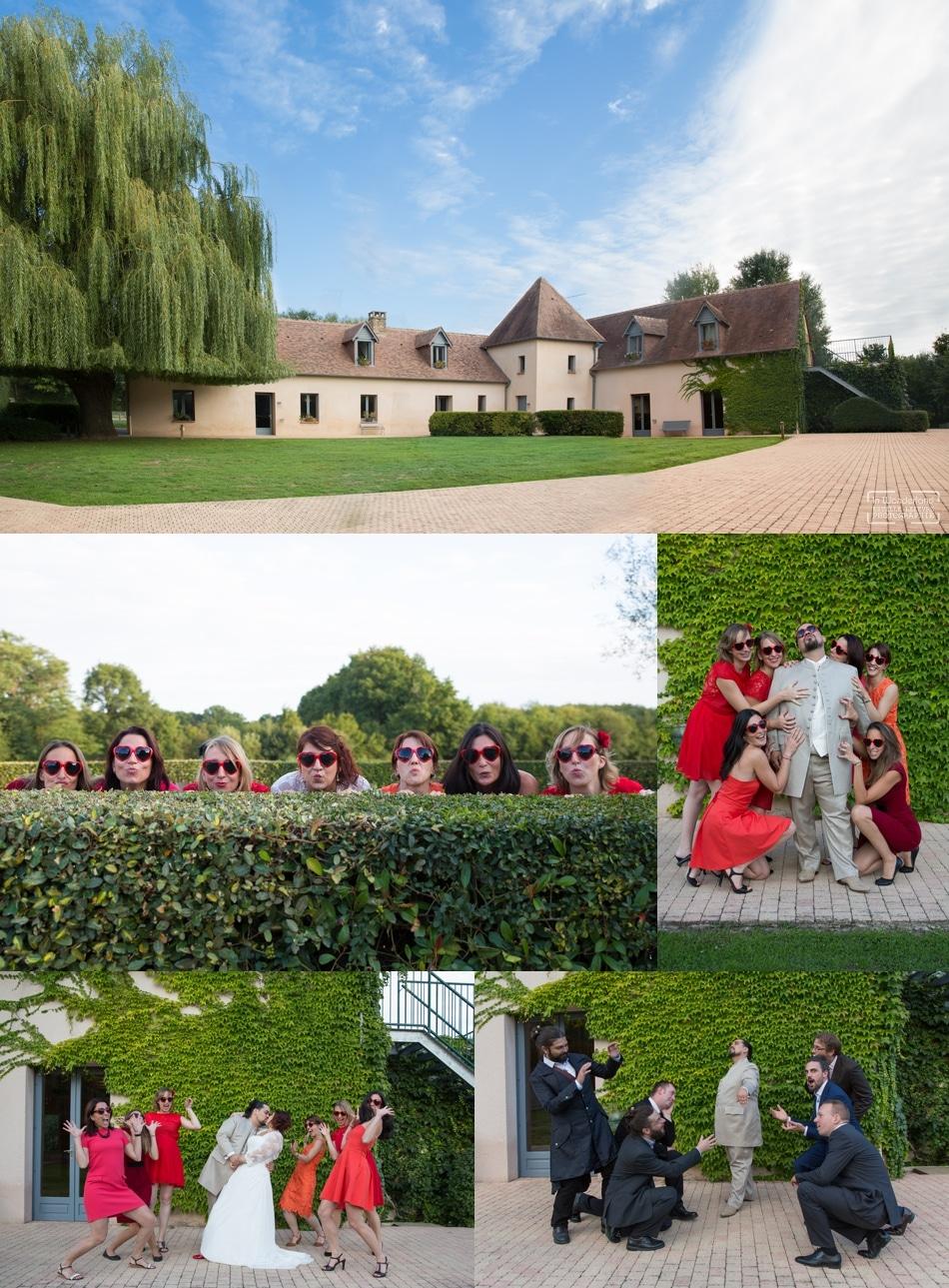 Photographe de mariage original a La tour des Plantes Sarthe