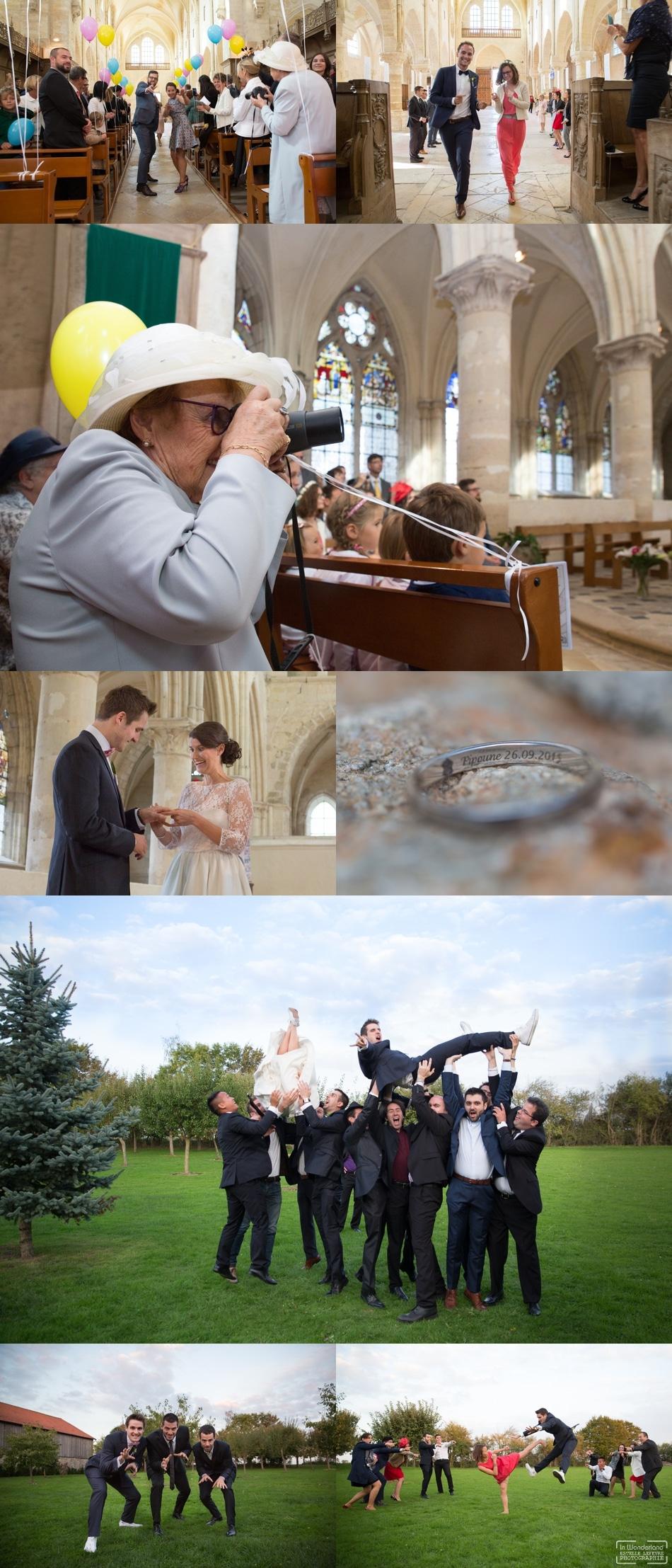 Photographe de mariage au Domaine de Malassise Mormant
