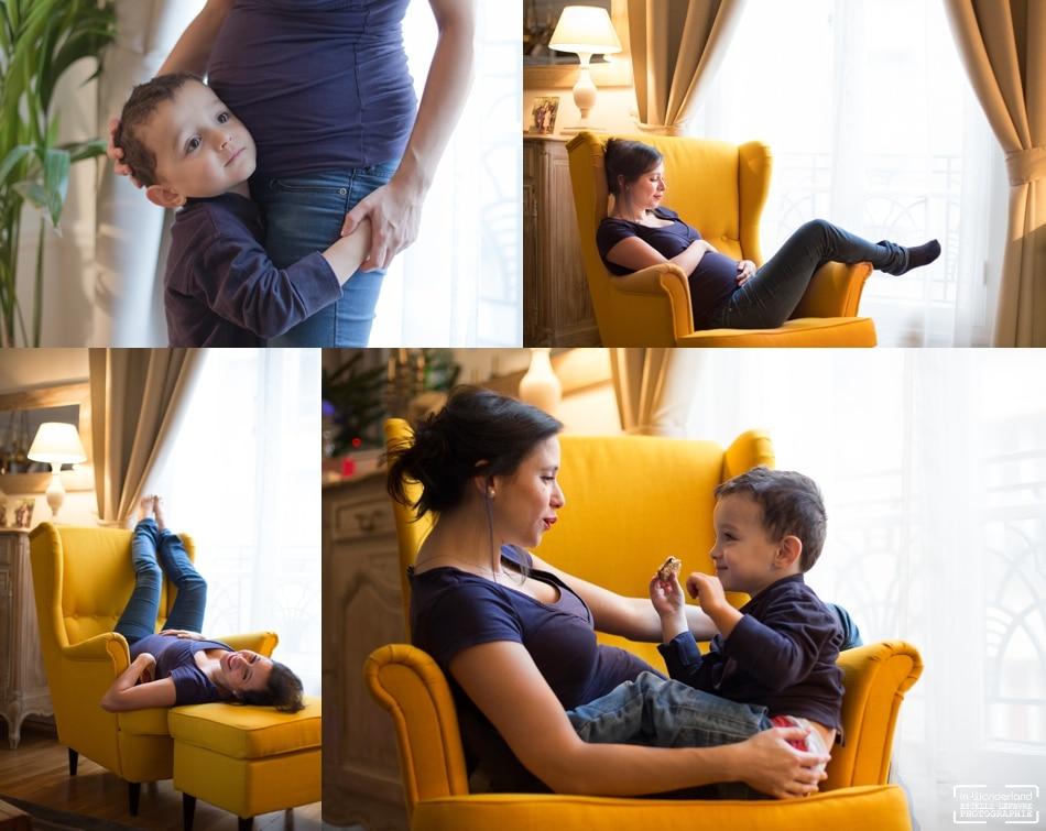 Photos de grossesse à domicile à Asnières sur seine