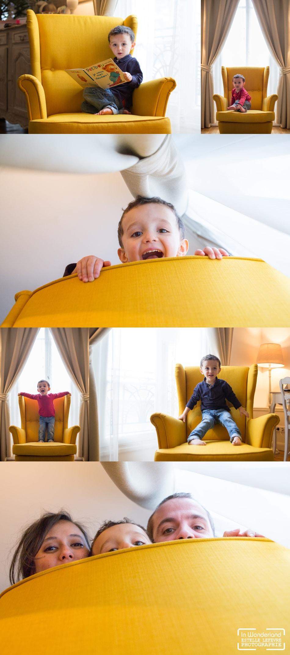 photos d'enfants et famille à domicile en région parisienne