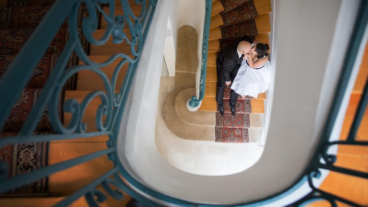 Photographe de mariage original élégant chic et cool-en région parisienne a asnieres sur seine