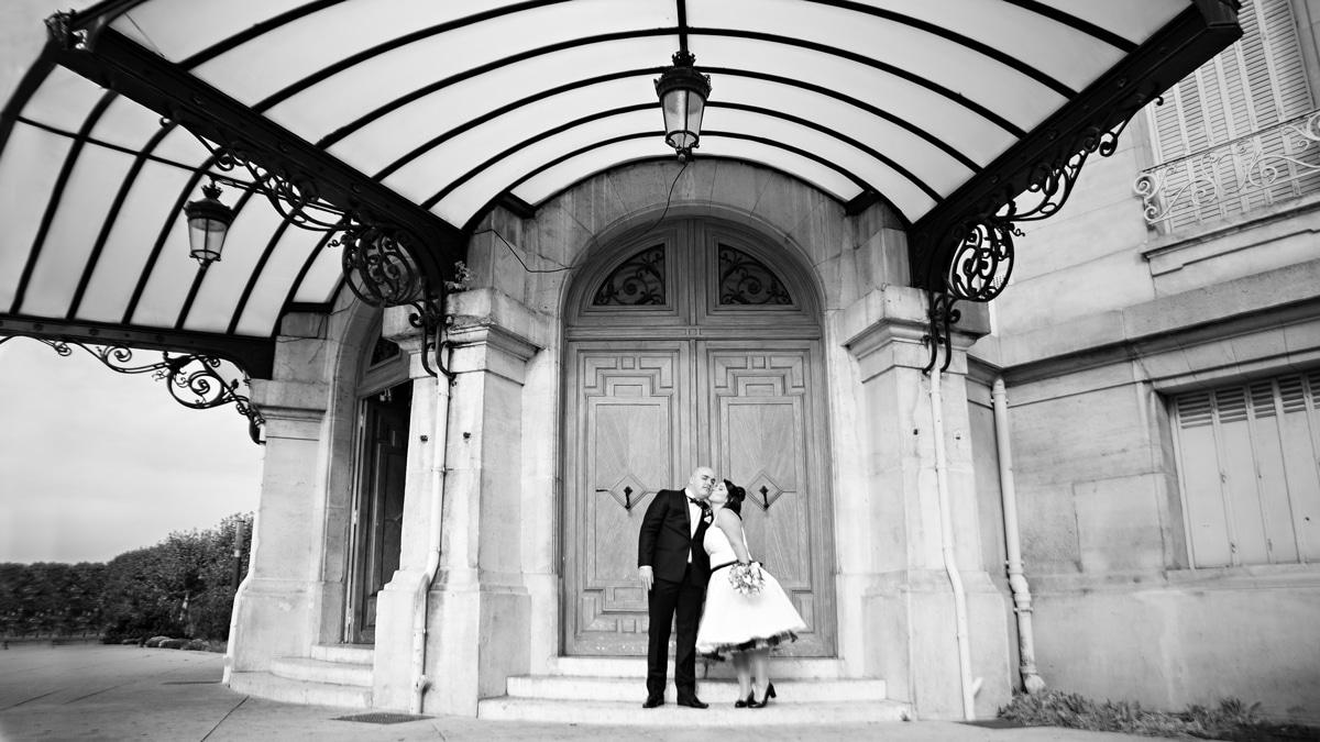 Photographe de mariage original élégant et chic en région parisienne a asnieres