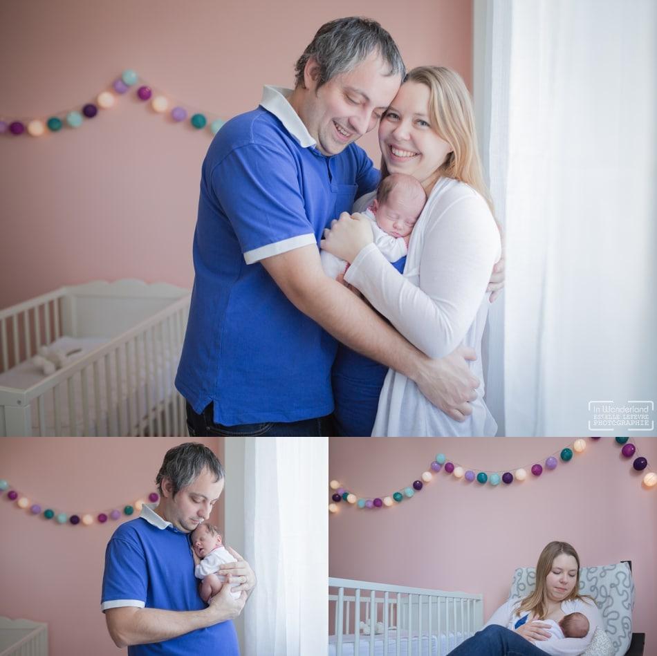 Photographe de naissance à domicile en région parisienne