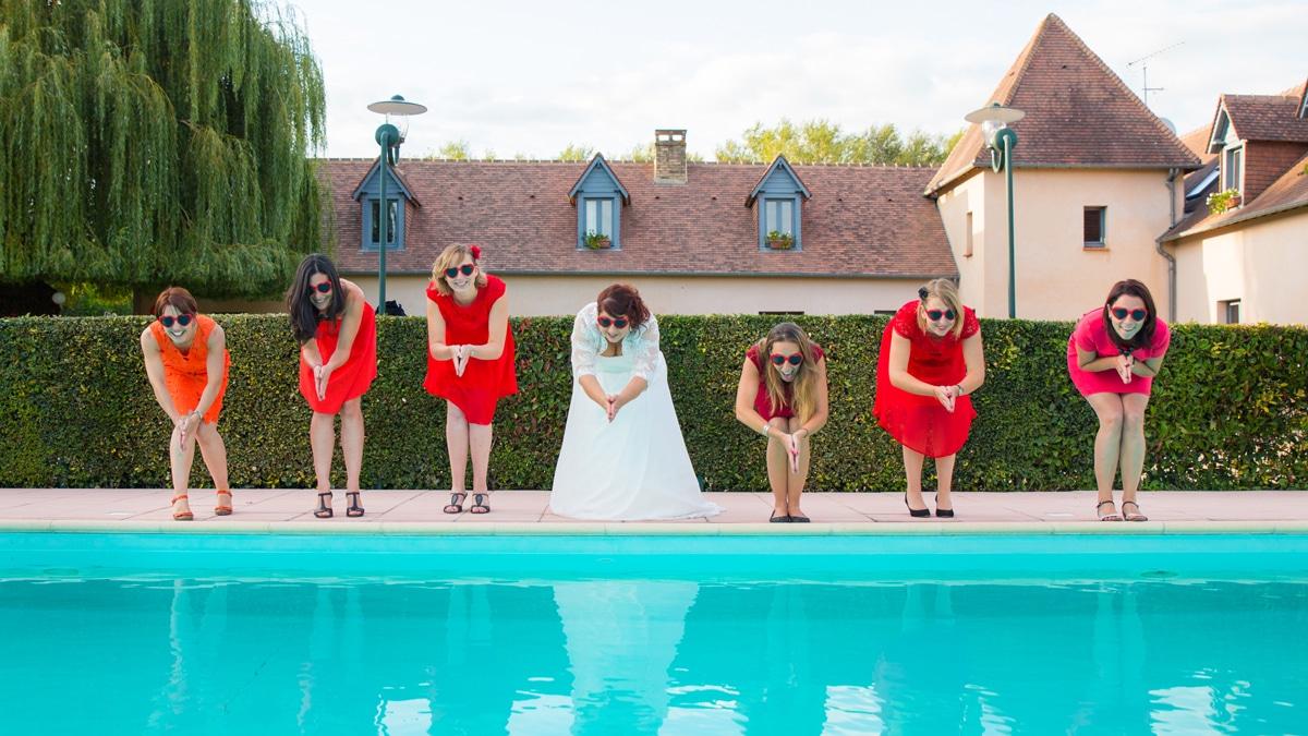 photographe de mariage à la Tour des Plantes Sarthe