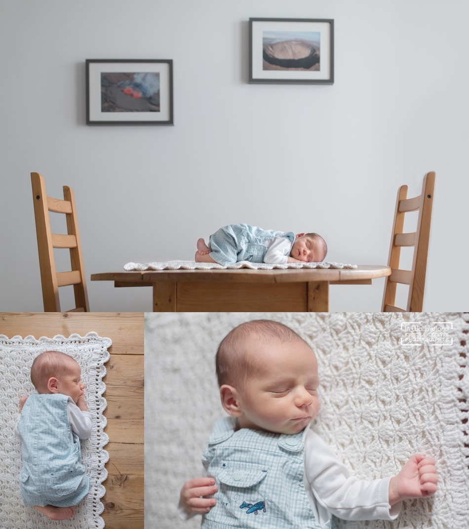 Séance photo de naissance bébé à Asnières hauts de seine