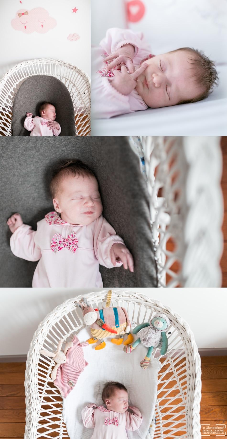 Photos de naissance photographe bébé à domicile Eaubonne
