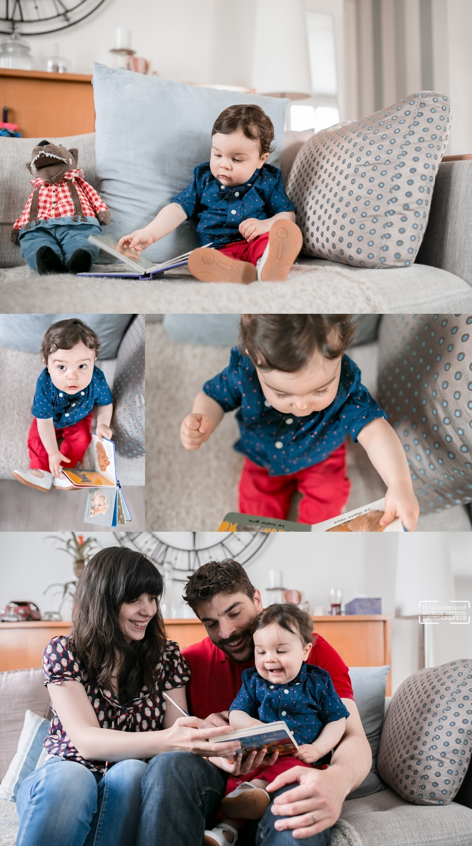 Photos de bébé à domicile photographe Eaubonne