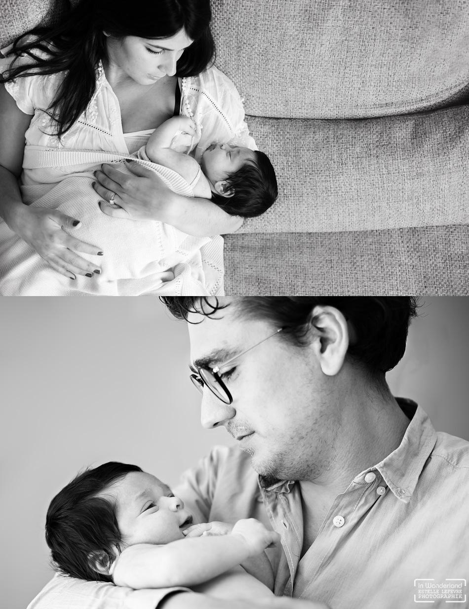 Photos de naissance a domicile photographe bébé a boulogne
