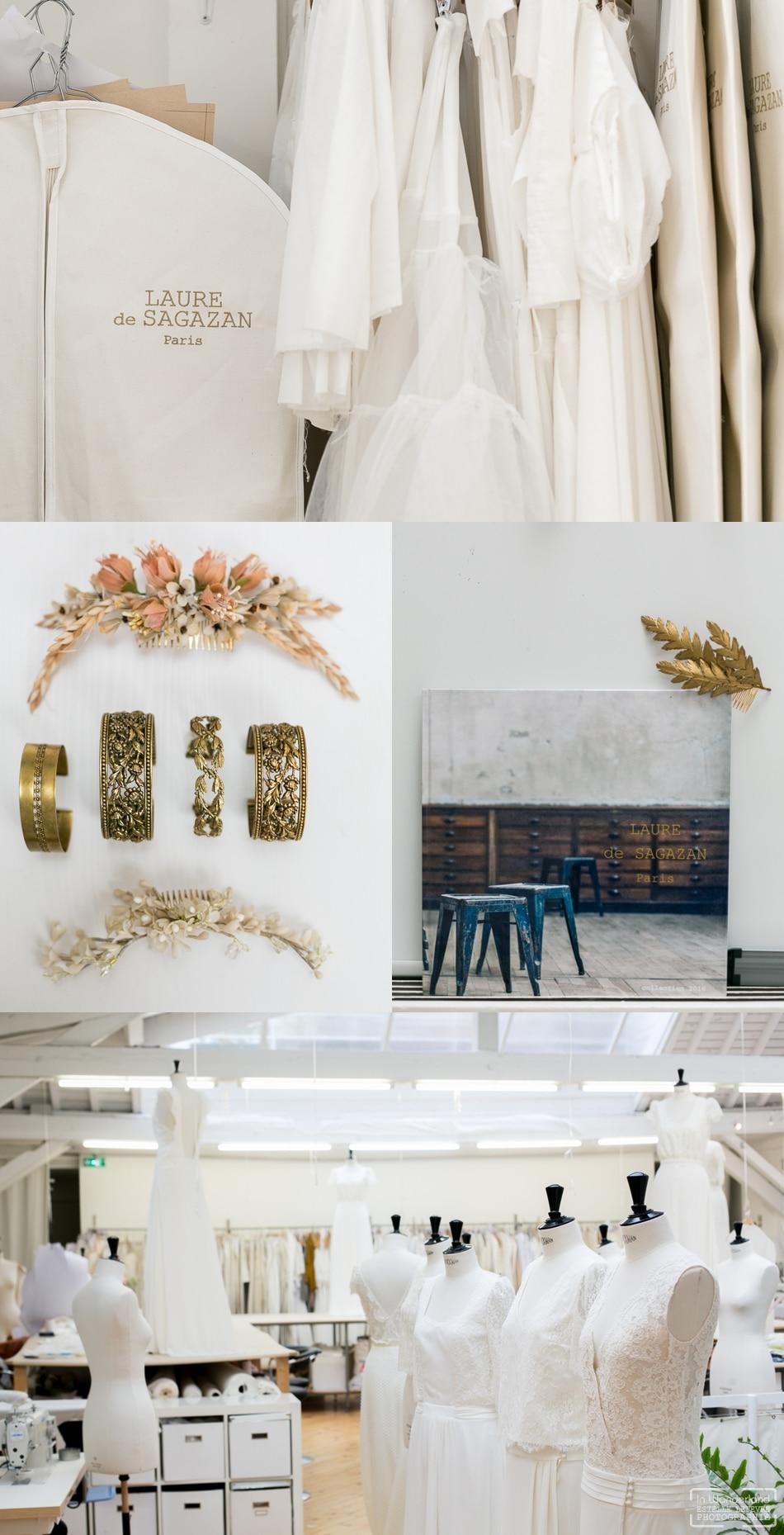 Photographe mariage robe Laure de Sagazan