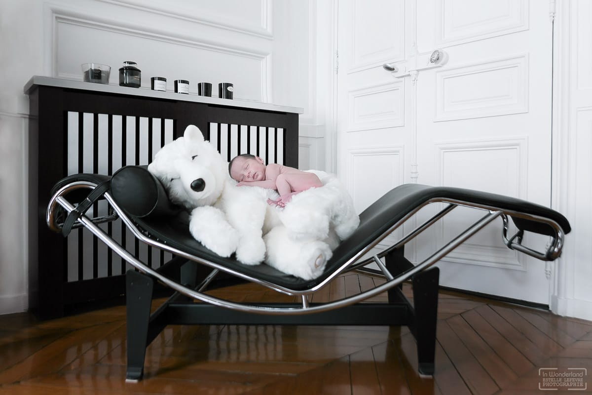 séance photo de naissance photographe a domicile a Boulogne