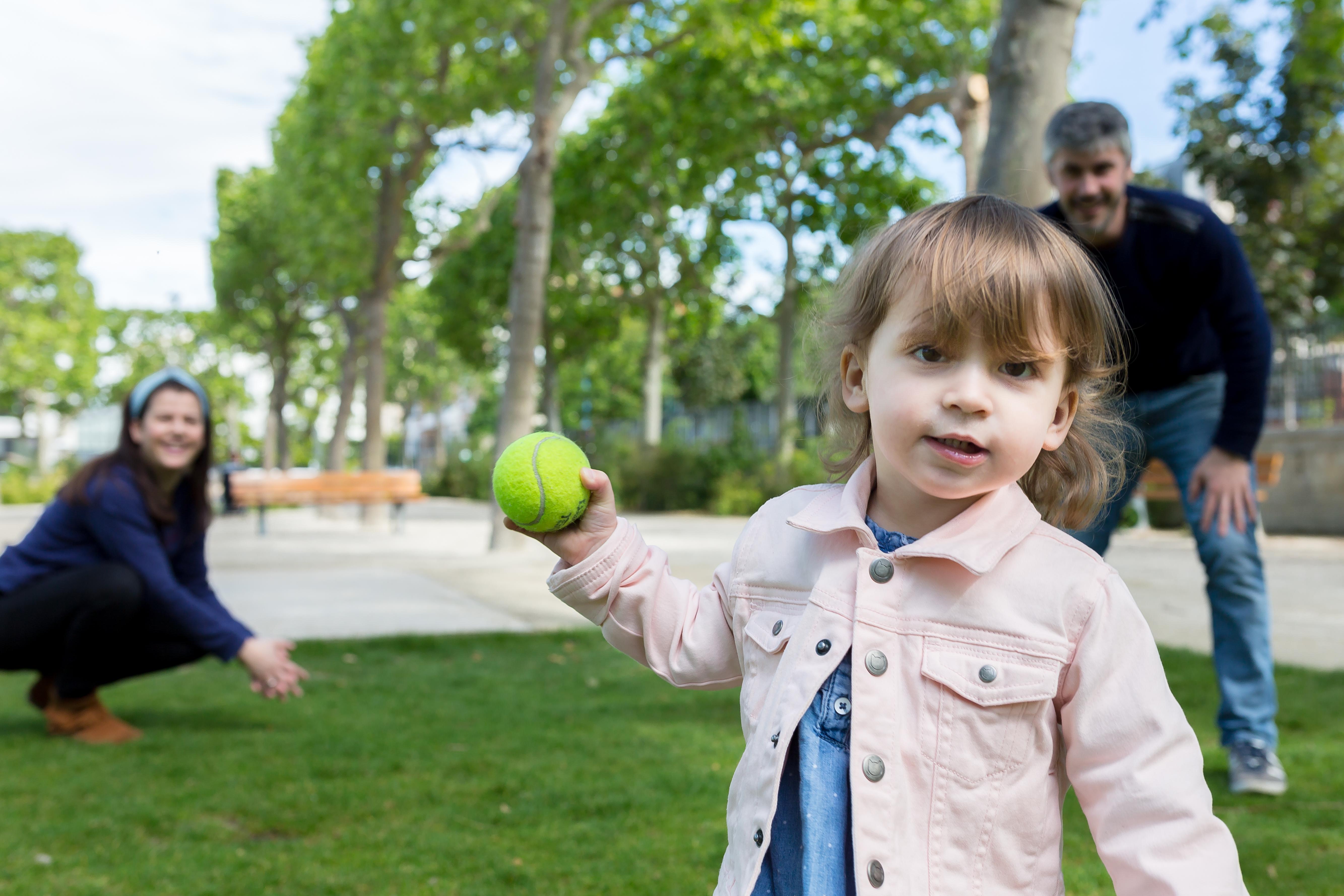 Séance photo en famille au parc à Asnières sur Seine