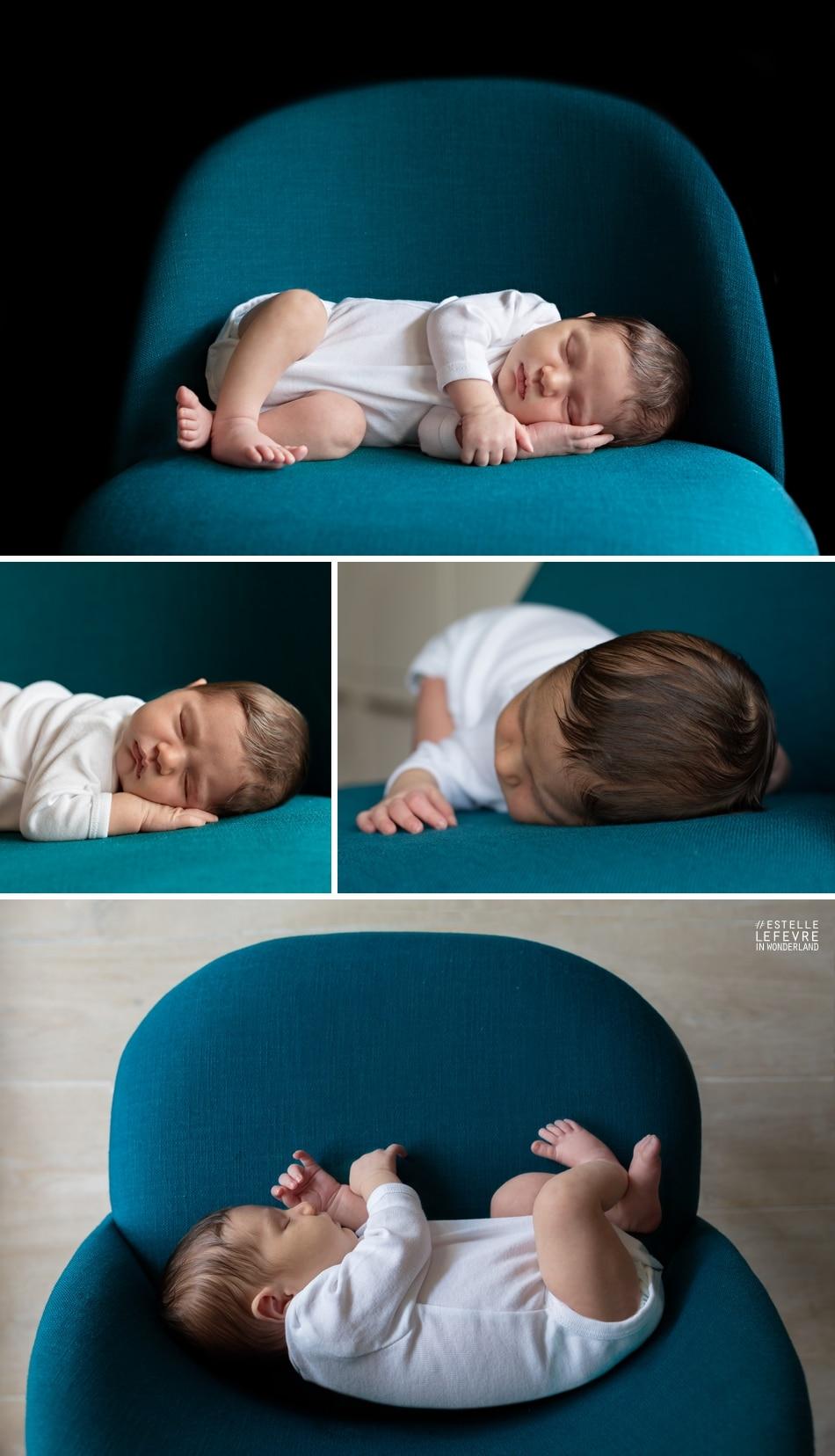 Photos de naissance à domicile en région parisienne à Boulogne