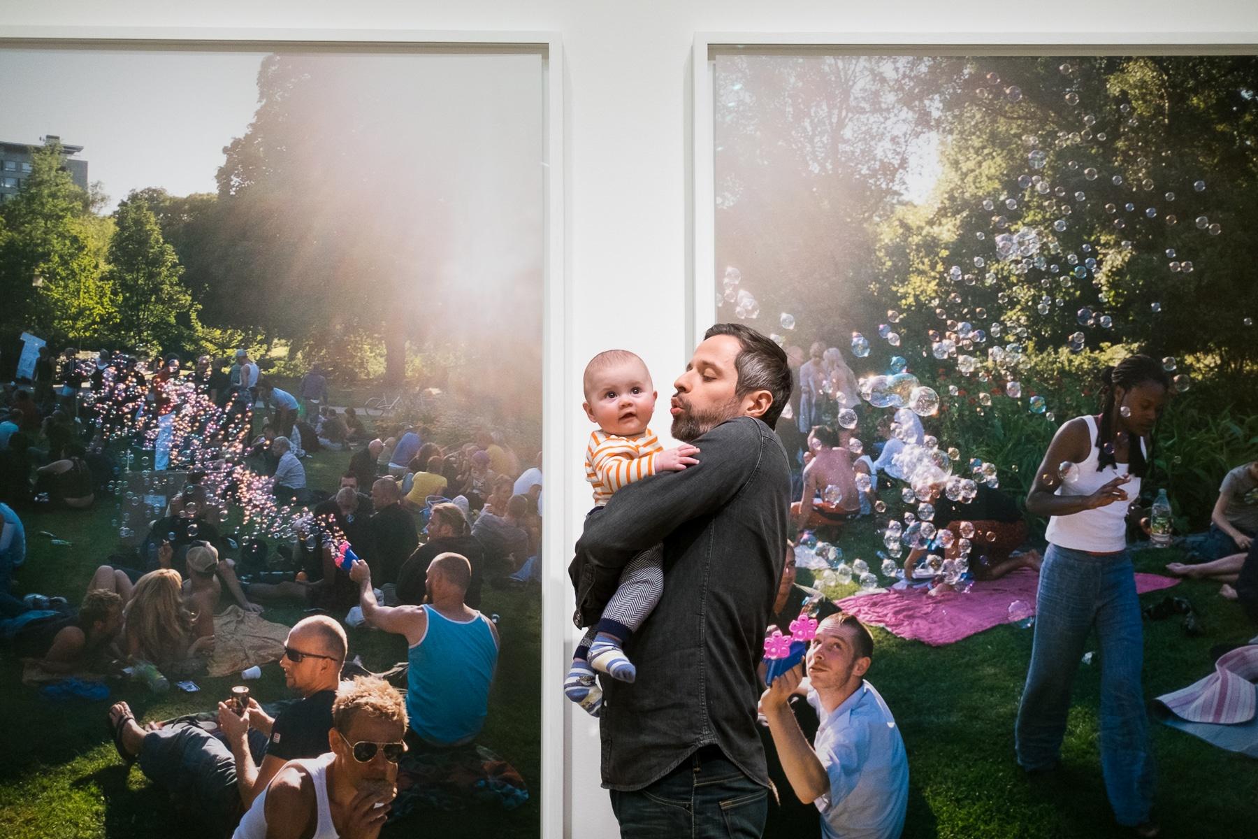 Photos de famille au musée de stockholm