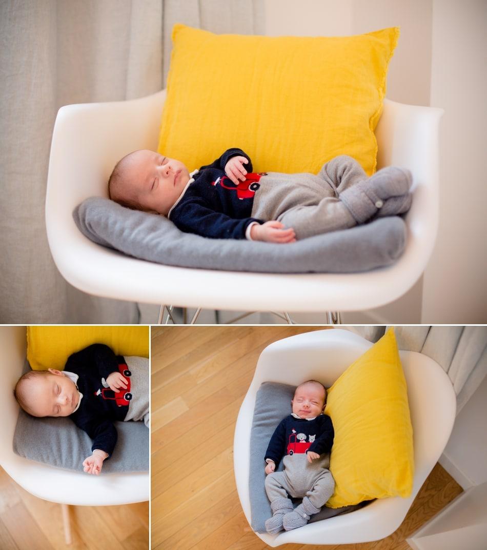 Photos de naissance à domicile photographe à Levallois