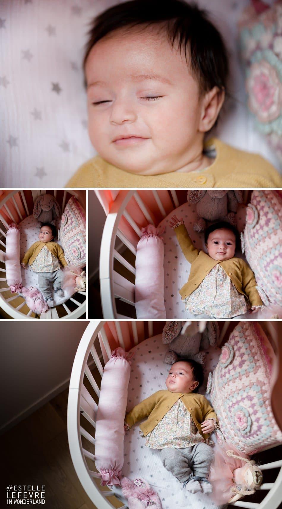 Photographe Neuilly photos de naissance à domicile