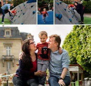 Séance photo en famille à Asnières sur Seine