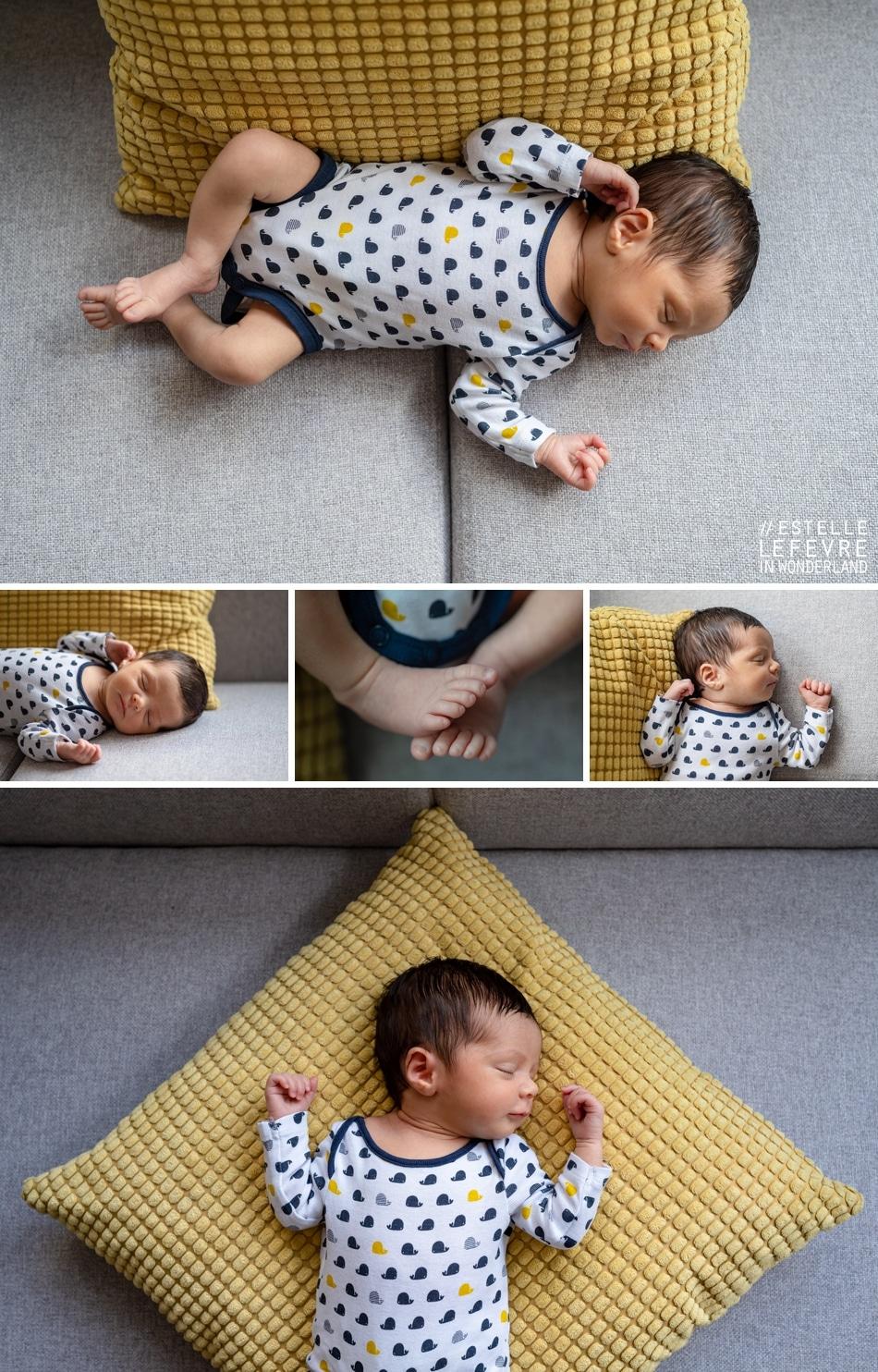 Photos de naissance à domicile photographe à Levallois 92