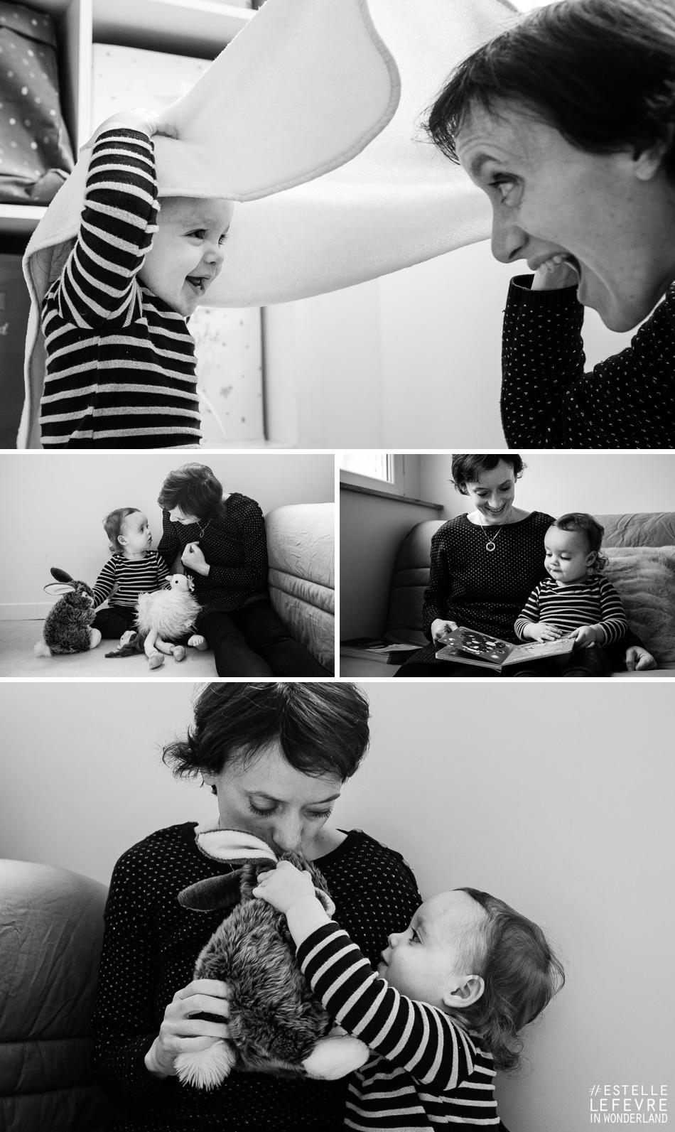 Séance photo en famille à domicile photographe Courbevoie 92